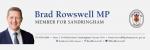 Brad Rowswell  – Member for Sandringham